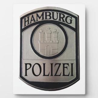 Hamburg Polizei Plaque
