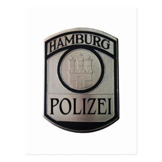Hamburg Polizei Postcard