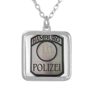 Hamburg Polizei Silver Plated Necklace
