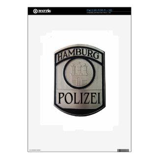 Hamburg Polizei Skins For iPad 2