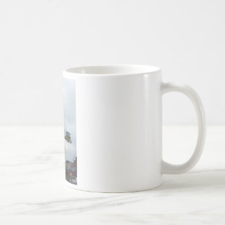 Hamburg port coffee mug