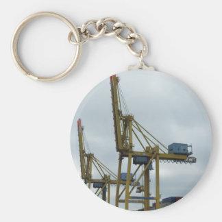 Hamburg port keychain