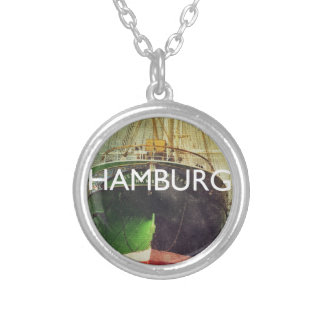 Hamburg Silver Plated Necklace