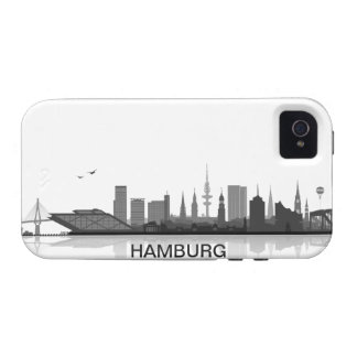 Hamburg skyline iPhone 4/4s sleeve/Case iPhone 4 Case