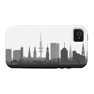 Hamburg skyline iPhone 4/4s sleeve/Case iPhone 4/4S Cases