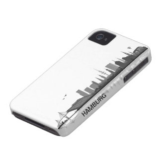 Hamburg skyline iPhone 4/4s sleeve/Case Case-Mate iPhone 4 Case