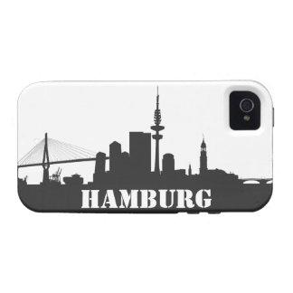 Hamburg skyline iPhone 4/4s sleeve/Case Vibe iPhone 4 Cases