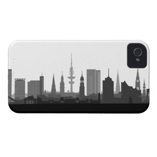 Hamburg skyline iPhone 4/4s sleeve/Case Case-Mate iPhone 4 Case