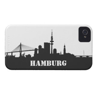 Hamburg skyline iPhone 4/4s sleeve/Case iPhone 4 Case