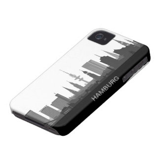 Hamburg skyline iPhone 4/4s sleeve/Case iPhone 4 Case-Mate Case