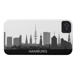 Hamburg skyline iPhone 4/4s sleeve/Case iPhone 4 Cover