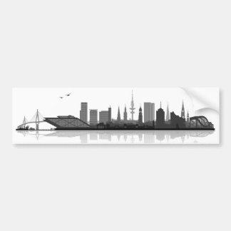 Hamburg Skyline Stickers