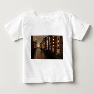 Hamburg Speicherstadt at Night Baby T-Shirt