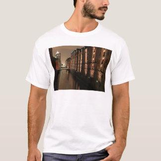 Hamburg Speicherstadt at Night T-Shirt