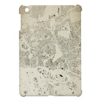 Hamburg Streets and Buildings Map Antic Vintage iPad Mini Case