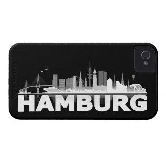 Hamburg town center of skyline Blackberry sleeve Case-Mate iPhone 4 Cases