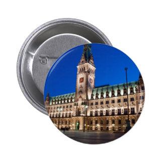 Hamburg Town hall Pin