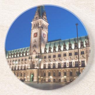 Hamburg Town hall Drink Coaster