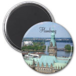 Hamburg Town Hall Fridge Magnets