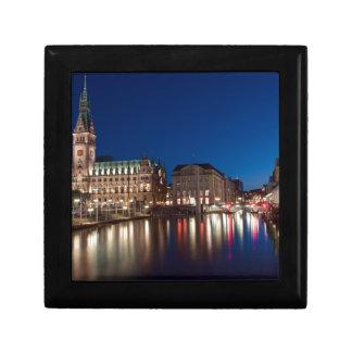 Hamburg Town hall Keepsake Box