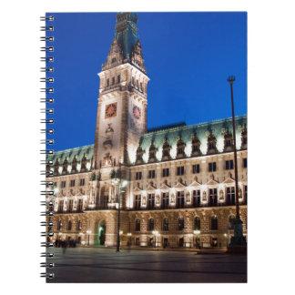 Hamburg Town hall Notebook