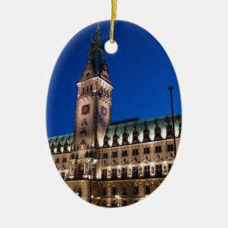 Hamburg Town Hall Ornament