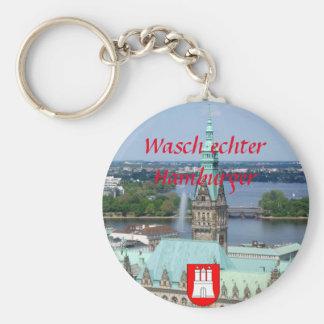Hamburg Townhall Keychain