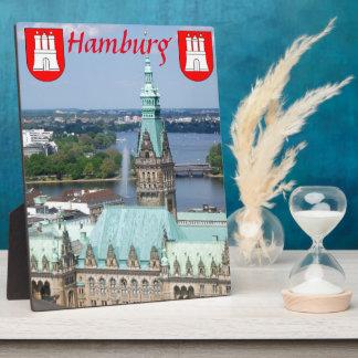 Hamburg Townhall Plaque
