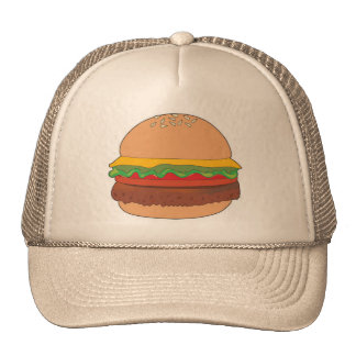Hamburger 1 trucker hat