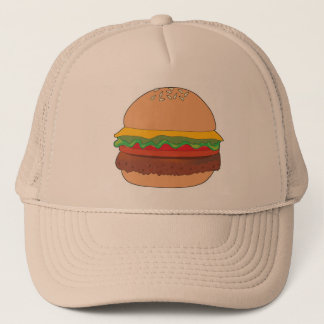 Hamburger 1 trucker hat