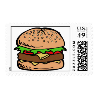 Hamburger 3 postage