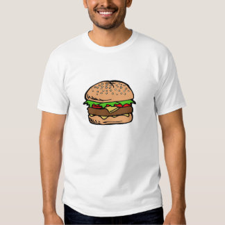 Hamburger 3 tee shirt