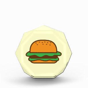Hamburger Acrylic Award
