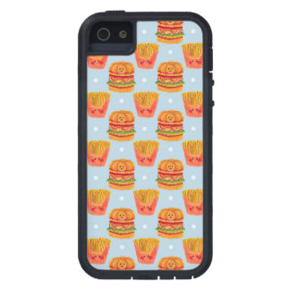 Hamburger and French Fries Pattern Case For iPhone SE/5/5s