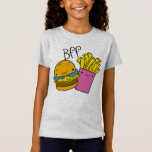 Hamburger and Fries BFF T-Shirt
