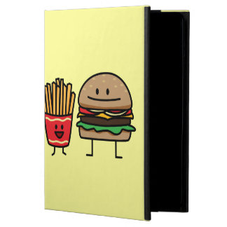 Hamburger and Fries fast food bun junk fried hot Case For iPad Air