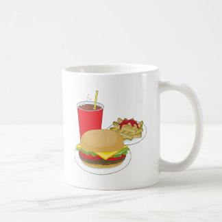 Hamburger and Fries Coffee Mugs