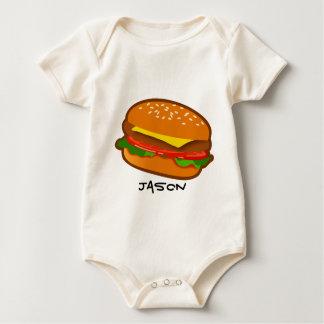 Hamburger Baby Bodysuit