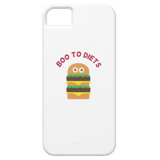 Hamburger_Boo To Diets iPhone 5 Case