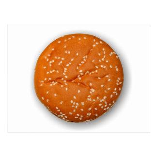 Hamburger Bun Postcard