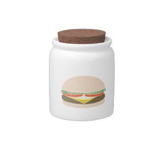 Hamburger Candy Jars