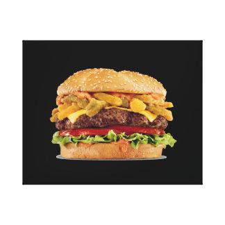 Hamburger Canvas Print