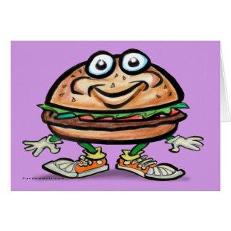 Hamburger Card