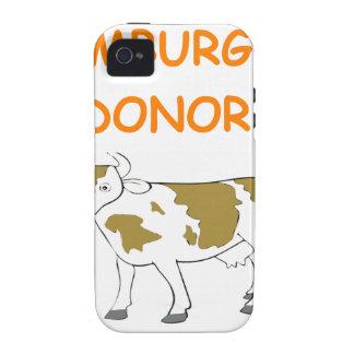 hamburger vibe iPhone 4 covers