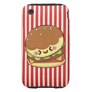 Hamburger Tough iPhone 3 Case