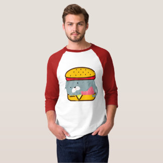 Hamburger Cat T-Shirt