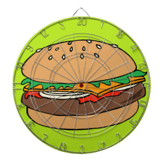 Hamburger dartboard