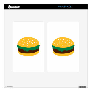 Hamburger Decals For Kindle Fire