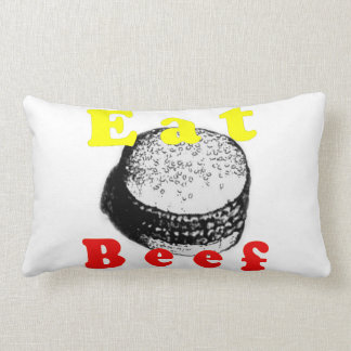 Hamburger Eat Meat Pillow