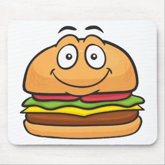 Hamburger Emoji Mouse Pad